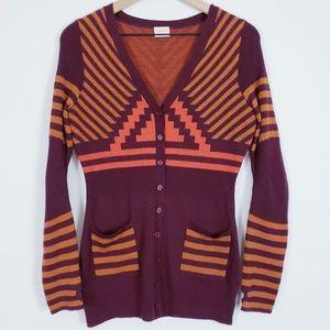 Gorman Australian wool southwestern cardigan M